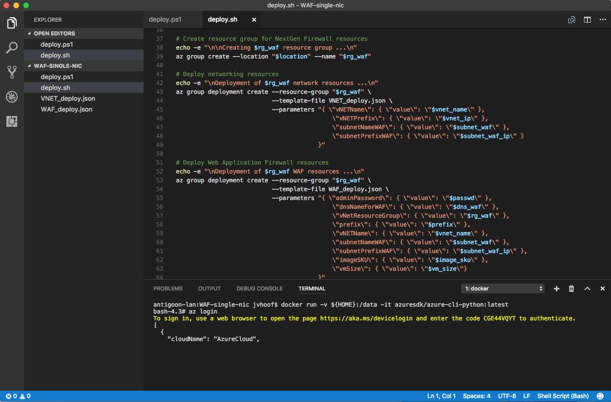 ARM Template development using Visual Studio Code – Untangled